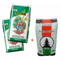 2 Planthumus kopen 1 zak franse schors GRATIS