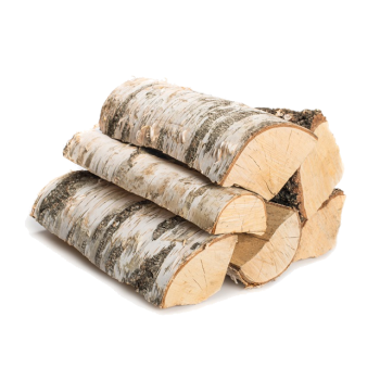 Droog brandhout Berk