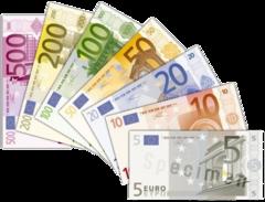 Betaal met contant geld